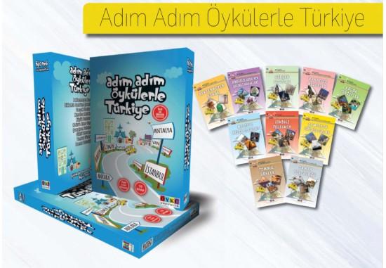 Adım Adım Öykülerle Türkiye